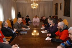 Mezquita informó al comite durante la reunión celebrada hoy en las instalaciones de Sniace en Torrelavega