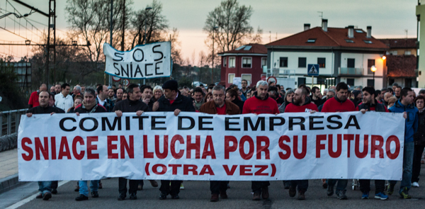 Imagen de la multitudinaria manifestación celebrada hoy. Mas fotos aquí.
