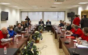 Reunión Comite, Gobierno y Empresa