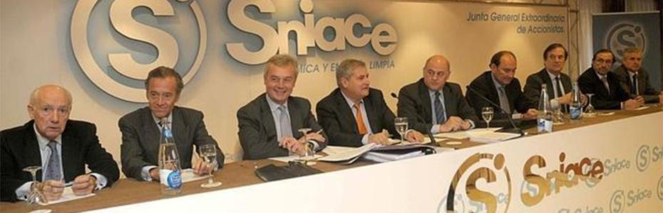 Imagen de la Junta celebrada en 2013.
